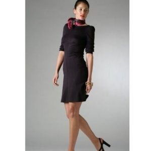 Diane von Furstenberg L/S Wool Beatrice Dress EUC
